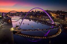 Twitter / Fascinatingpics: Overlooking the Tyne River ...