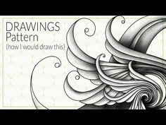 Drawings Pattern - How I would draw this - YouTube