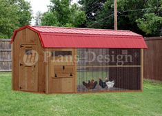 x Walk in Barn Chicken Coop Plans Design : Plans are for a classic combination style chicken coop comfortably house up to twelve chickens. There are six nesting boxes and three roost bars plenty of space for the chickens. Walk In Chicken Coop, Chicken Coop Kit, Diy Chicken Coop Plans, Portable Chicken Coop, Chicken Coop Designs, Backyard Chicken Coops, Building A Chicken Coop, Chicken Runs, Chickens Backyard