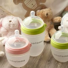Revolutionizing the old-fashioned rubber nipple, Comotomo has designed a better baby bottle. These flexible silicone bottles and nipples mimic a natural nursing experience and reduce colic. And you'll feel good about the fact that they're BPA-free and easy to clean.