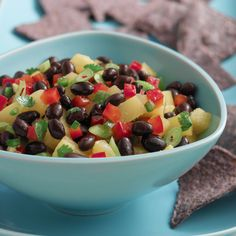 Enjoy this flavorful and easy salsa bursting with our Black Beans, plus pineapple, cilantro and jalapeño peppers. Make the day before for more intense, bold flavor.