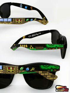 Gafas de Legend of Zelda