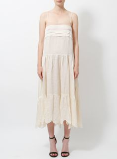 Chloé by Phoebe Philo Slip Dress Silk Slip, Satin Slip, Dress Skirt, Lace Dress, Pump Sneakers, Phoebe Philo, Clothing Items, Dress Outfits, Knitwear