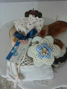 Portachiavi fiore hand made