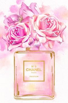 Chanel Wallpapers, Cute Wallpapers, Pink Wallpaper, Iphone Wallpaper, Chanel Wall Art, Planners, Chanel Perfume, Pink Power, Fashion Wall Art