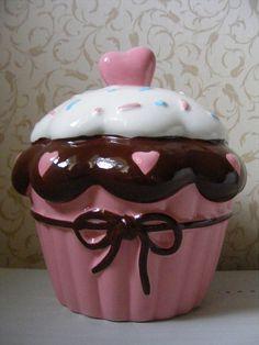 Cupcake Money Box | Flickr - Photo Sharing!