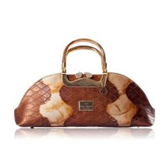 Walter Valentino Leather Handbag Gold C A Great Selection Of From Charlotte Reid London