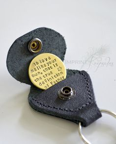 to love me like your own, that is the true definition of Father - step dad gift - Father's day gift idea SALE Genuine Leather Golf Marker Keychain by ImprintKeepsakes Stepdad Fathers Day Gifts, Fathers Day Art, Fathers Day Quotes, Gifts For Father, Step Parents Quotes, Father Definition, Diy Gifts, Best Gifts, Cinderella Wedding