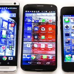 Check out how the Moto X stacks up against the competition.