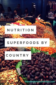 Nutrition Superfoods by Countries and how to eat your nutrients while abroad. Enjoy these tasty cuisines and plan to eat healthy on your next adventure!