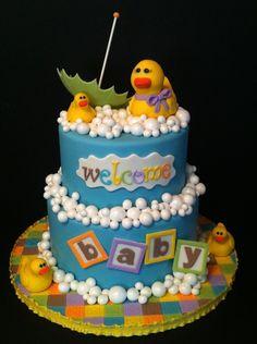 Rubber Duckies - jbarrett573, Cake Central