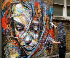 Street Art...David Walker, Musetouch.