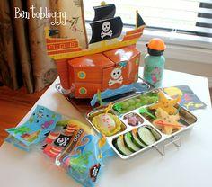 Bentobloggy: Bento #264 - Talk Like a Pirate Day Shipwreck & Bento Booty Blog Hop Giveaway!