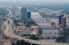 Grand Rapids, MI ... bridges galore