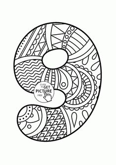 104 Best Alphabet Numbers Coloring Pages Images Coloring Pages For