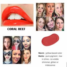 Coral Reef LipSense color.