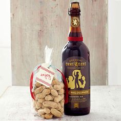 Valentine's Gifts for Guys: Beer and Peanuts