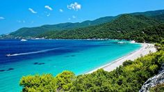 Skopelos island... Beautiful aqua water!