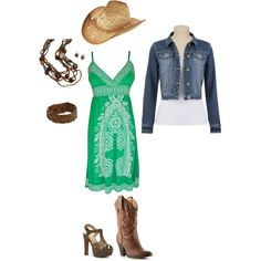 Cowgirl Chic, created by erin-lashley on Polyvore