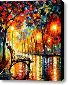"I need to own this! ""Loneliness of Autumn"" by Leonid Afremov"