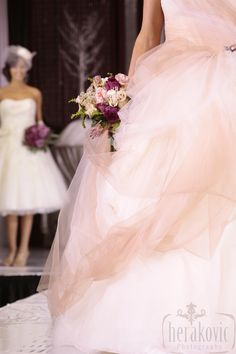 Bridal Fashion Show Flowers by: Living Fresh livingfresh.ca Photography by: Herakovic Photography www.hrkvc.com