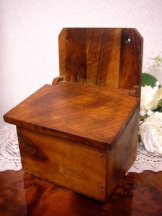 Enamel France フランスアンティーク木製セルボックス木箱缶ホーローカントリー インテリア 雑貨 家具 Antique ¥4500yen 〆06月25日