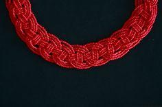 Le Fanciulle Woven Bead Necklace