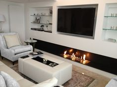 INBUILT ETHANOL FIREPLACE - Google Search                                                                                                                                                                                 More