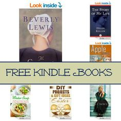 Free Kindle Book List: The Covenant, The Story of My Life, Winter Soup, and More