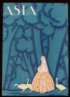 ASIA magazine, june 1928 by Frank McIntosh ( via AFFLATUS )