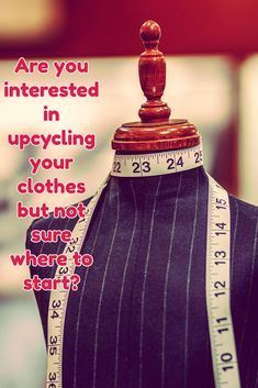Are you interested in upcycling your clothes but not sure where to start? This upcycling blog is a good place to start if you want to get some inspiration for recycled fashion. http://theartofcouture.com/get-in-on-the-act/ recycled fashion. upcycled clothing