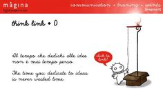 Think Link for Màgina - Light your events | Creative newsletter format. Comics support the brand reputation. Illustrations and animation by Marianna Balducci for ReeDo Hub