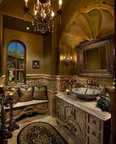 Super goth bathroom