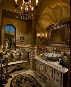 bathroom...omg...what a room to love..