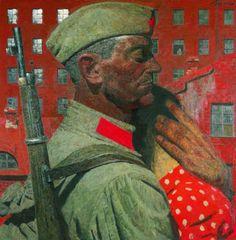 Коржев-Чувелев Г. М. Проводы. Из серии «Опаленные войной»
