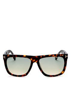 Protection Logo, Prescription Lenses, Havana, Tom Ford, Jewelry Accessories, Glamour, Sunglasses, Brown, Women