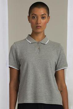 Tricou polo damă Tipped Mantis Polo Shirt, Tips, Mens Tops, Shirts, Fashion, Embroidery, Moda, Polos, Advice