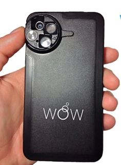 If you love to take photos with your phone, check out this case - it gives you 4 new high quality lenses.