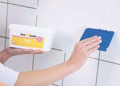Rolling plaster for tiles - Basteln - Renovieren