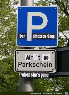 lustiges Bild 'Politessen-Song.jpg' von Torsten-ohne-H. Eine von 14329 Dateien in der Kategorie 'witzige Bilder' auf FUNPOT.