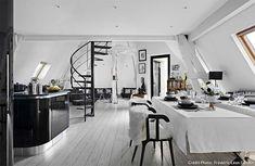 Loft asunto Pariisissa