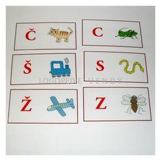 Logopedie procvičování csz | Mimibazar.cz Advent Calendar, Logos, Holiday Decor, Advent Calenders, Logo