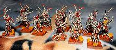 #warhammer #GamesWorkshop #woodelves #Dryads #miniaturepainting #Sagitari #Sagidima