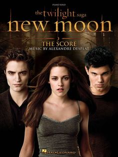 Alexandre Desplat: The Twilight Saga: New Moon - The Score - Piano Solo. £10.95