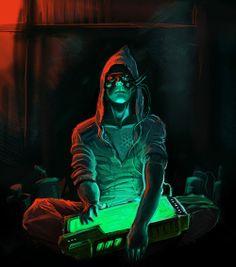 Cyberpunk, Modern mage, technomancer