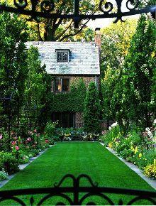 total yard makeover on a microscopic budget, concrete masonry, flowers, gardening, landscape, outdoor living, lisadreissig com via Pinterest