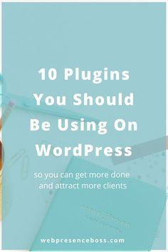Looking into using Wordpress for your web design and blog design? Here are 10 Wordpress plugins you should be using on Wordpress websites. 1. Yoast SEO 2. Monarch Social Share & Follow Buttons 3. Backup Buddy 4. WP Maintenance Mode 5. WP Smush 6. CoSchedule 7. Click to Tweet 8. Defender 9. reCaptcha 10. Hummingbird