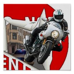 Cafe Racer Smart One Thousand Poster