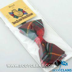 Boyd Tartan Bow Tie