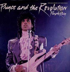 "Prince Purple Rain - Purple Vinyl USA 12"" Vinyl Record/Maxi Single"